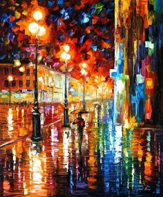 The Tempo of the Rain- Leonid Afremov