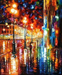 The Tempo of the Rain- Leonid Afremov