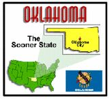 Oklahoma State Unit Study - Geography, State Symbols & Facts
