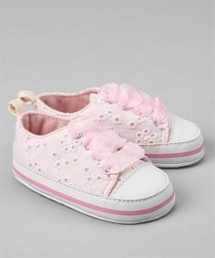 Pink Eyelet Sneakers – Vitamins Baby