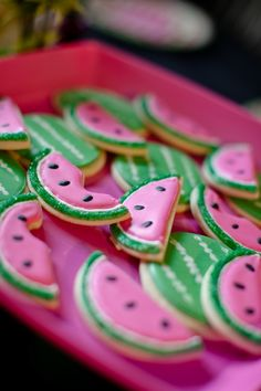 Watermelon Cookies  I DO invitations by michelle: Cami's {Watermelon} Summer Play Date