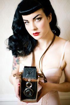 Long Black Hair, Gorgeous Short Fringe