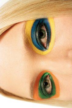 make-up by GEORGINA GRAHAM photography by HARRI PECCINOTTI