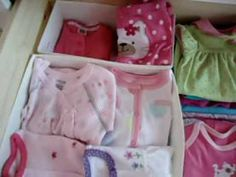 ▶ How to organize dresser for baby with drawer organizer - YouTube
