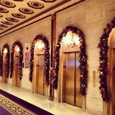 Deck the halls! #RooseveltNYC