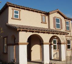 Faux Wood Rafter Tails Enhance The Exterior Of Any Style