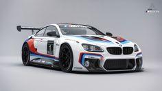 BMW M6 GT3 Studio shot, rendered in KeyShot by Arian Shamil.