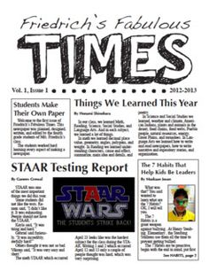 Learning to Teach in the Rain: Creating a Classroom Newspaper