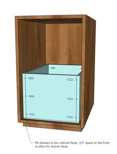 anna white furniture plans. n ana white  build a eco office file base  free and easy diy project