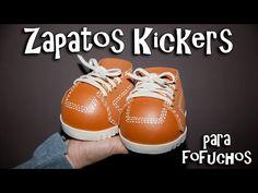 ZAPATOS KICKERS PARA FOFUCHOS - GOMA EVA - YouTube