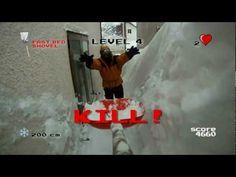 LO SPALATORE - VIDEOGAME SPALATUTTO (Pennabilli Neve 2012)