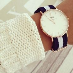 Nato Love! <3   http://www.lilywho.ie/womens/watches/daniel-wellington/daniel-wellington-ladies-classy-galsgow-watch.html