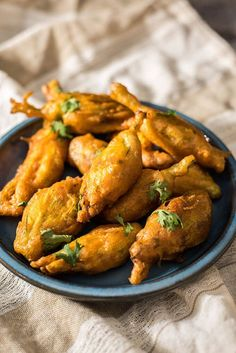 Stuffed and Fried Zucchini Blossoms - Stuffed with cooked shrimp and cheese. Battered and deep fried. These are TO DIE FOR!