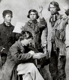 Native American Civil War recruits
