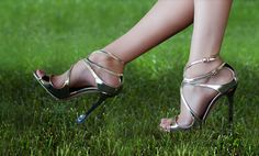 Solemates so your heels don't sink into the grass on your big day.