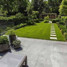 Superbe jardin contemporain