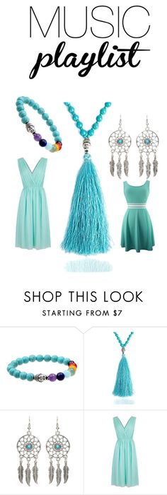 """""""ISHOW Turquoise Jewelry Set"""" by ishowyoushowhy on Polyvore featuring Summerplaylist"""