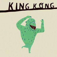 walkyland:  King Kong lives in New York