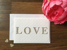 Valentines Day Card // Cute Love Card for Boyfriend // Anniversary Card for Husband // Romantic Birthday Card