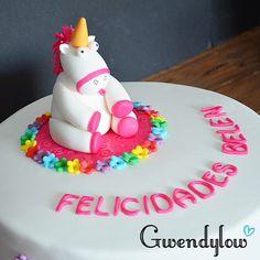 Tarta Unicornio - ¡Es tan blandito que me quiero morir! - Ñam, Ñam!!!