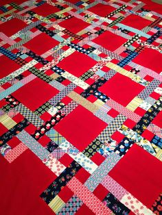 """PatchworknPlay: Shelburne Tartan... from """"Link to the '30s : making the quilts we didn't inherit."""