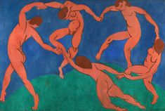 """Henri Matisse paintings always carried a personality of an unconventional artist. According to Matisse's artistic enemies, he was a """"raging animal"""" mocking their comfortable realism with bright colors and unconventional forms. Matisse Kunst, Matisse Art, Matisse Drawing, Matisse Paintings, Picasso Paintings, Vermeer Paintings, Chagall Paintings, Paul Gauguin, Henri Matisse Dance"""