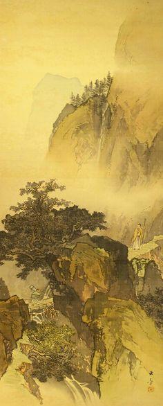 Kawabata Gyokusho 川端玉章 (1842-1913).