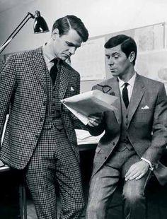Afbeeldingsresultaat voor 60s working fashion men