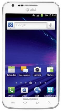 Samsung Galaxy S II Skyrocket 4G Android Phone, White (AT)  Realize the full power of 4G with the Android-powered Samsung Galaxy S II Skyrocket smartphone, which runs on AT's new ultra-fast 4G LTE network (learn more below). Combined with the speed of the powerful dual-core 1.5 GHz processor and the Android 2.3 OS, you'll enjoy enhanced multitasking abilities and smooth game play. Measuring a mere 9.49mm (0.37 inches) at...