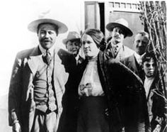 Pancho Villa and his wife Luz Corral - After just a brief courtship, Pancho Villa married Maria Luz Corral. He convinced the priest that neither one would really have the time for his confession before the marriage. This relationship ended in 1921.