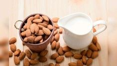 DIY Almond Face Mask For Glowing Skin Overnight  Want To Know Glowing Skin Overnight? Check out DIY Almond Milk Face Mask For Glowing and Dry skin.  #almond #DIY #Face #Glowing #Mask #Overnight #skin Yogurt Face Mask, Homemade Face Pack, Overnight Face Mask, Smoothies With Almond Milk, Milk Alternatives, Best Smoothie Recipes, Dairy Free Milk, Good Health Tips, Health Breakfast