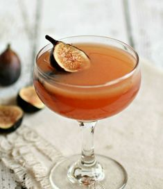 A Cocktail Life: The Fig and Bourbon