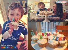 Numbers and Letters Birthday Celebration - (cool) progeny #coolprogeny