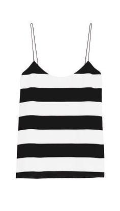 Tibi black and white stripes - to go with pastel prints