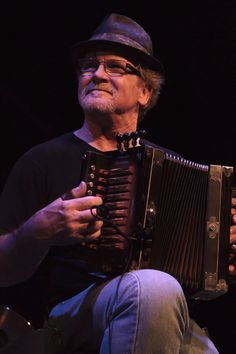 Jesse Lége. Great Cajun accordionist