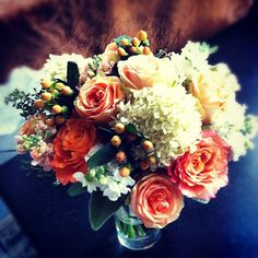 Lauren's Bouquet //     Fall Wedding Flowers for a Wedding at the Blue Sky Resort in Breckenridge, Colorado.  |  photo[stacysanchez]