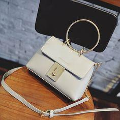 Encontre mais Bolsas de Ombro Informações sobre 2016 nova maré moda círculo…
