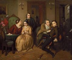 ERNST GEORG FISCHER, American (1815-1874), The Bro...