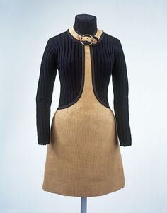 Ensemble (dress, jumper & hat), 1965 designed by Quant, Mary, made in 1973