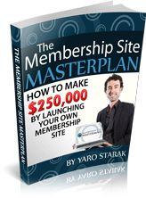 The Membership Site Masterplan Original Audio Report