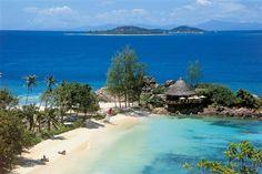 Die Seychellen-Insel Praslin - Eine Villa am Strand