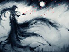 Dark Moon in a Spring Night by NanFe