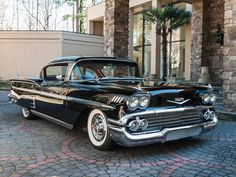 1958 Chevrolet Impala..Re-pin brought to you by agents of #Carinsurance at #HouseofInsurance in Eugene, Oregon