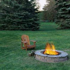 Our How to Build a Fire Pit project is certainly a reader favorite. No matter the season, DIYers love the idea of an open flame for roasting marshmallows and late-night hangouts. | Photo: Kolin Smith