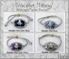 Armband mit Kheops and MiniDuo by Puca - Perles & Co