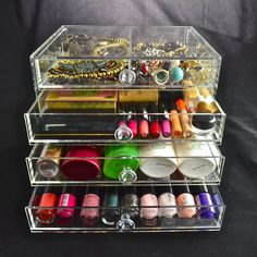Drawers, Crystals, Model, Shopping, Collection, Cabinet Drawers, Drawer, Crystal