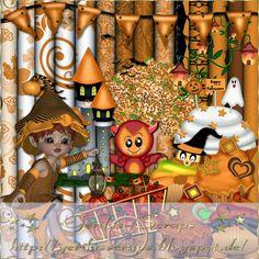 Gerdas Scrap's: Halloween-Scrap-2014