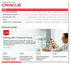 The Daily Oracle Homepage