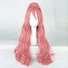 27.30$  Know more  - Akuma no Riddle Haruki Sagae Pink Cosplay Wig Costume Hair Wig + 1 ponytails