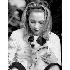 Kate Hudson et son chien Nana